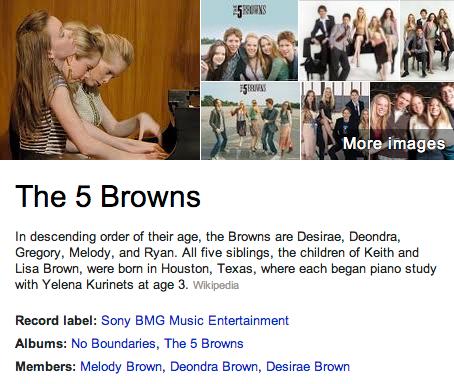 5 Browns Mormon