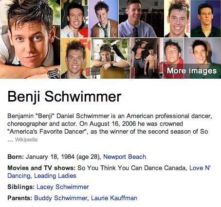 Benji Schwimmer Mormon
