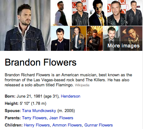 Brandon Flowers Mormon