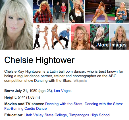 Chelsie Hightower Mormon