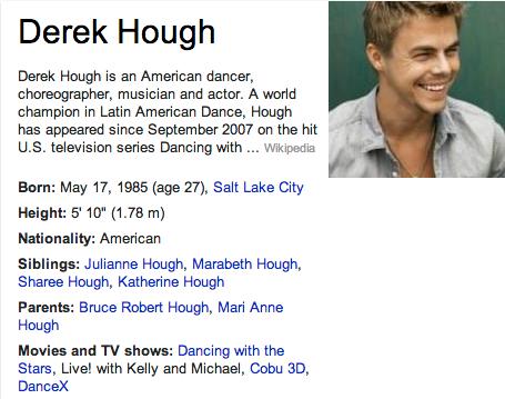 Derek Hough Mormon