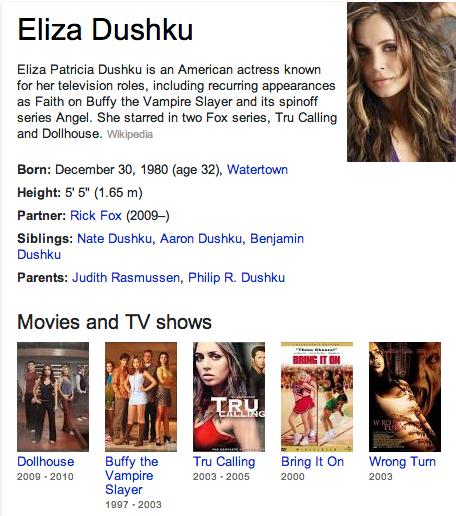 Eliza Dushku Mormon
