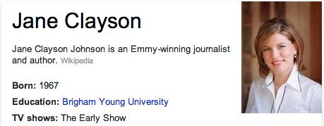 Jane Clayson Mormon