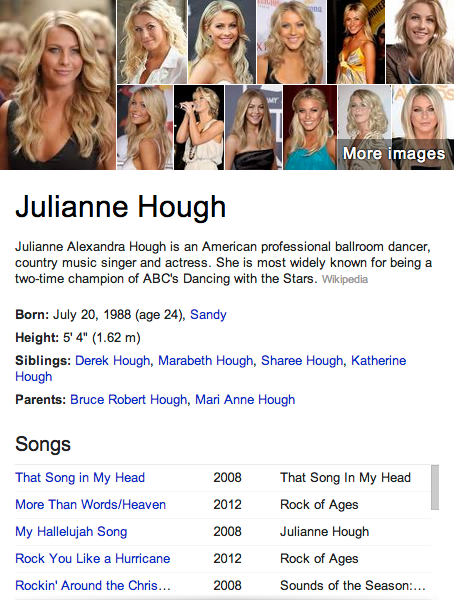 Julianne Hough Mormon