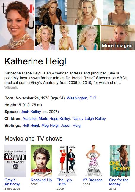 Katherine Heigl Mormon