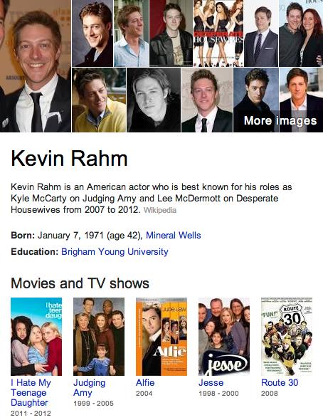 Kevin Rahm Mormon