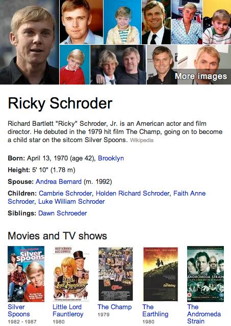 Ricky Schroder Mormon
