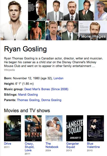 Ryan Gosling Mormon