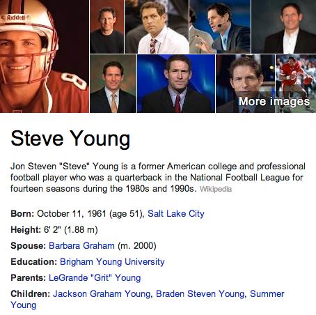 Steve Young Mormon