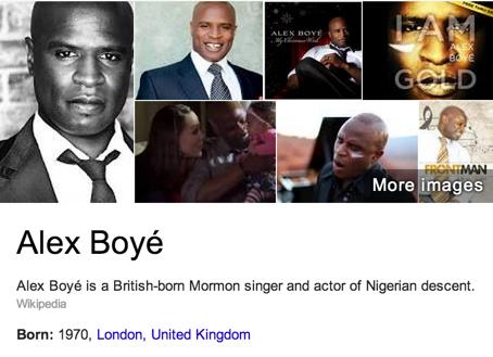 Alex Boyé Mormon