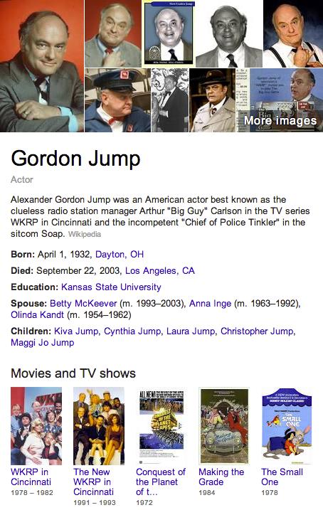 Gordon Jump Mormon