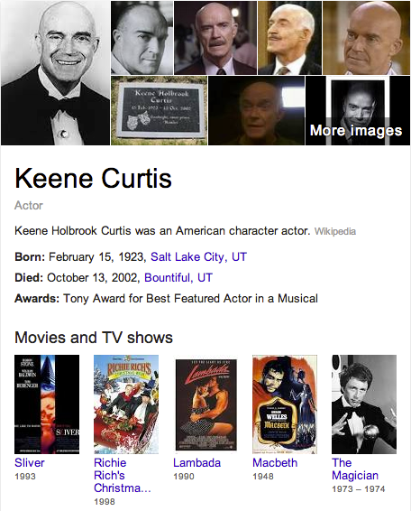 Keene Curtis Mormon
