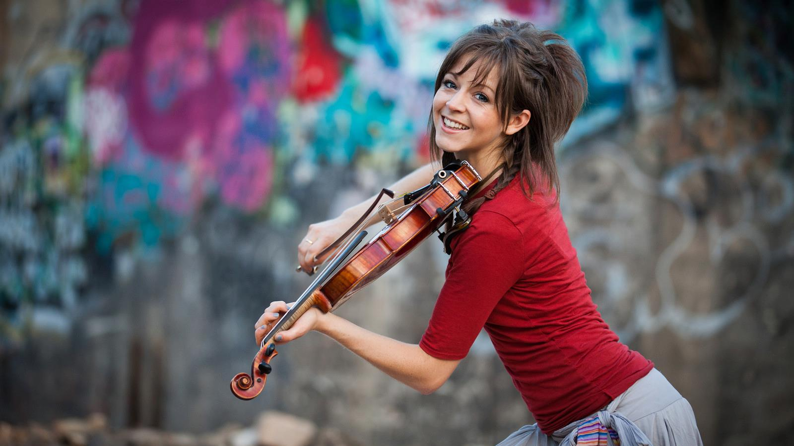 Lindsey Stirling - Famous Mormons Jabari Parker Shoes