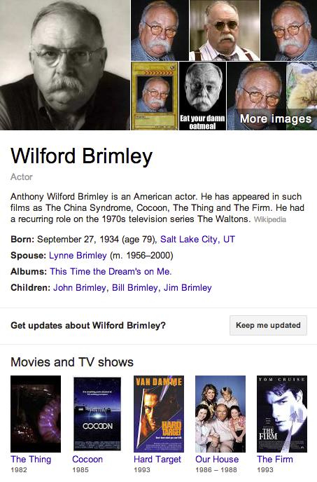 Wilford Brimley Mormon